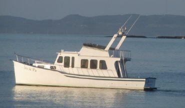 1994 Custom Trawler Type 40