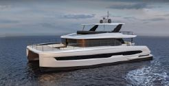 2021 Custom HSY-60 Power Catamaran