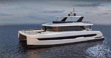 2021 Custom HYS-70 Power Catamaran