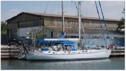 1995 Viking Boats Classic Italian Steel Cutter