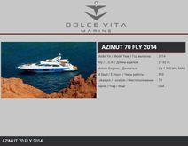 2014 Azimut 70 Fly
