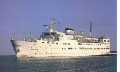 1953 Cruise Ship M/S Birger Jarl 312ft 370pers