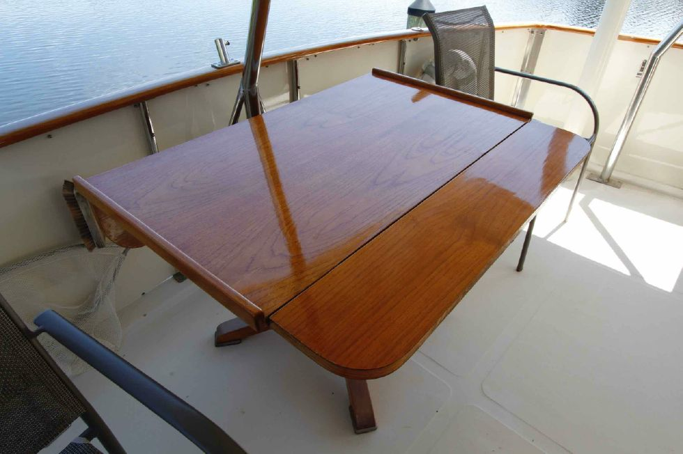 Jefferson 42 Sundeck Finished Table