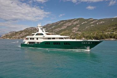 Feadship Full Displacement