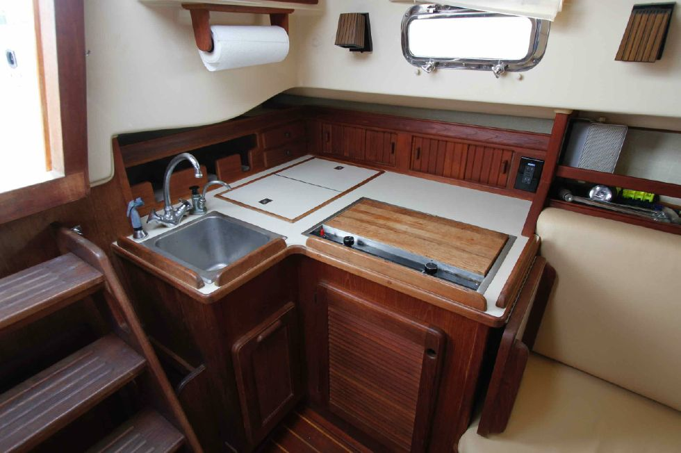 Island Packet 27 Galley