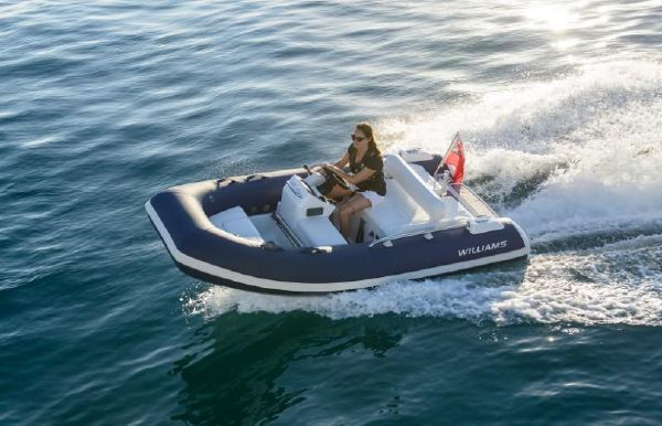 2018 Williams Jet Tenders Sportjet 345