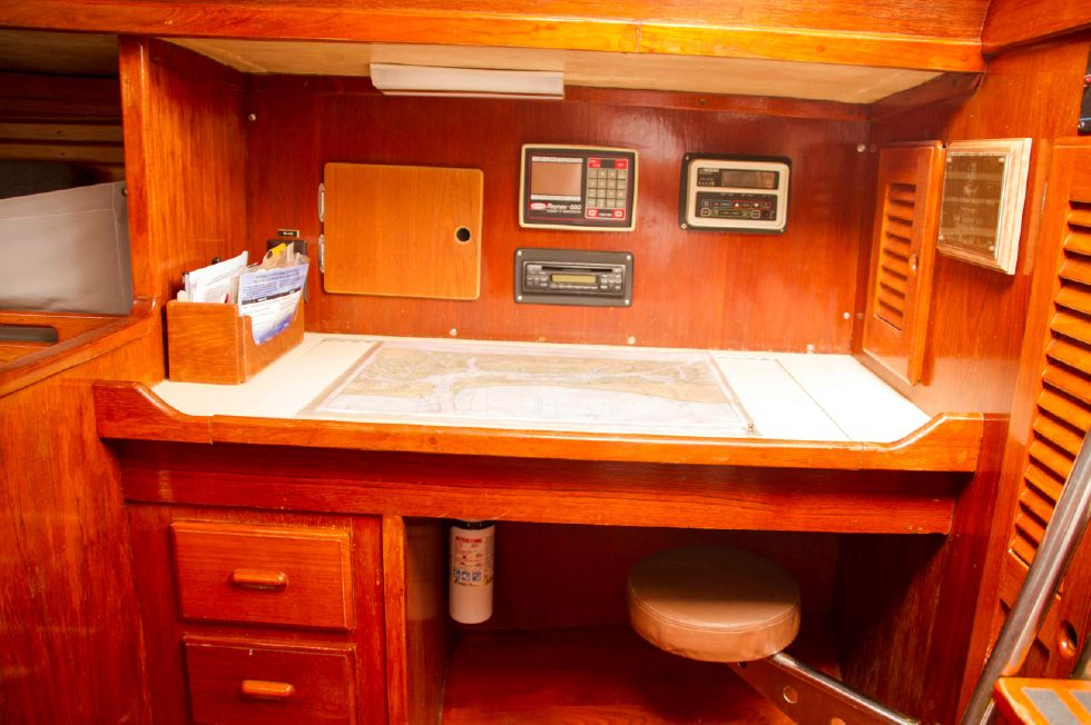 1987 Migrator Block Island 40 Edwards Yacht Sales