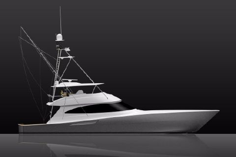 2020 Viking 72 Convertible - Manufacturer Provided Image