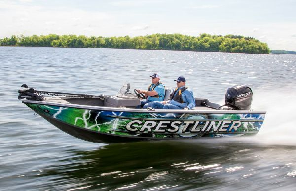 2018 Crestliner 1850 Fish Hawk WT