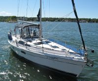 2002 Hunter Passage 420