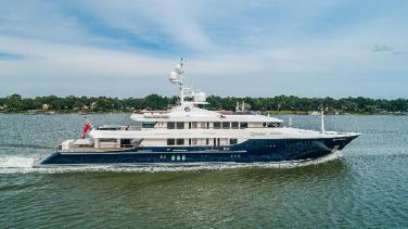 Trinity Yachts Twin Screw Displacement Yacht