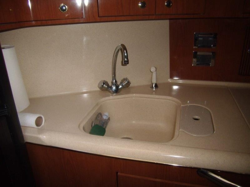 2002 Sea Ray 410 Express Cruiser - Galley 3 - Sink