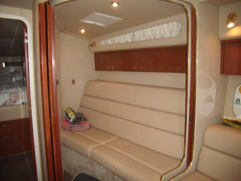 2002 Sea Ray 410 Express Cruiser - Guest Stateroom - Convertible Sofa