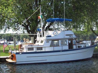 1978 Lindmark 34 Gloucesterman