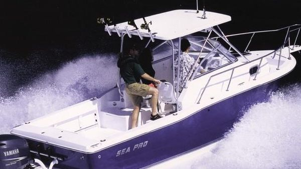 Sea Pro 235 Walk Around Manufacturer Provided Image