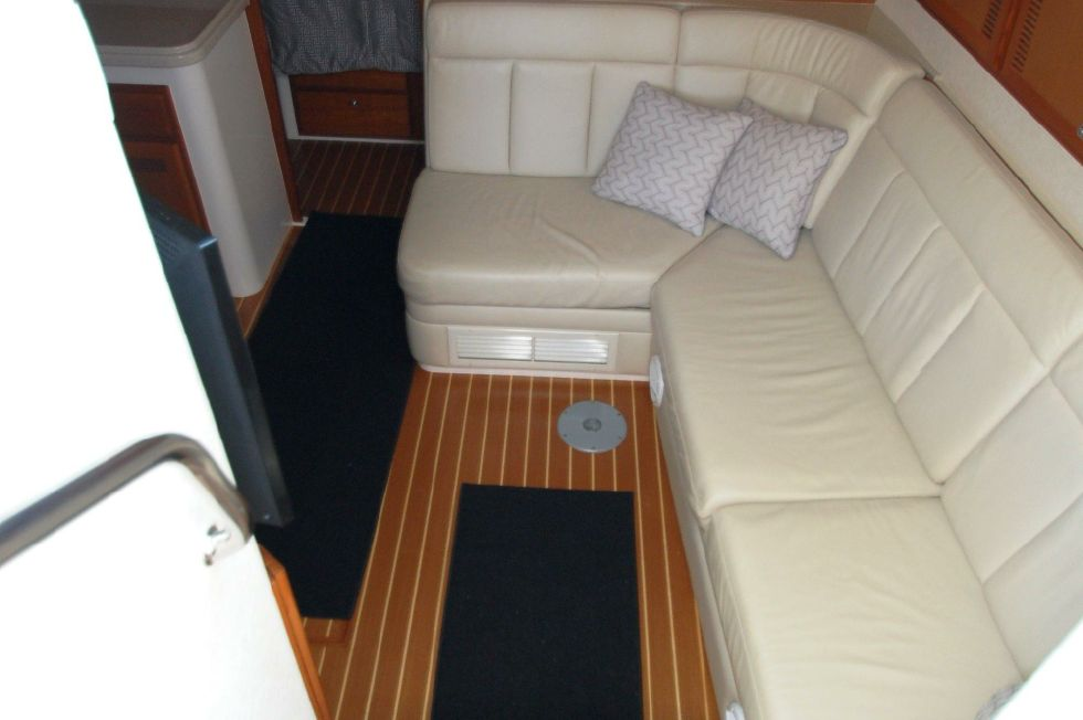 Companionway to salon