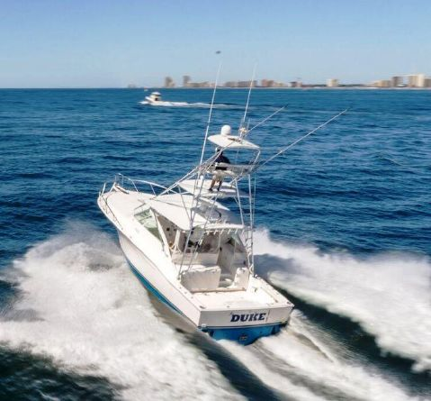 2005 Cabo 40 Express - Running 3
