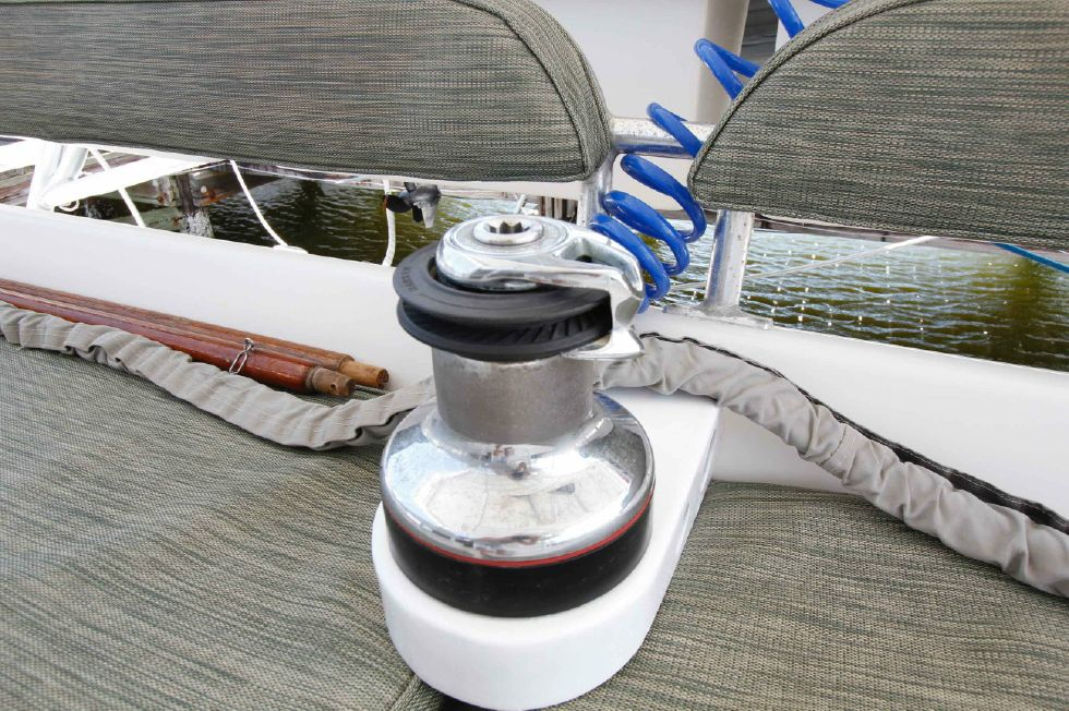 Manta 42 Mark IV Spinnaker Winch