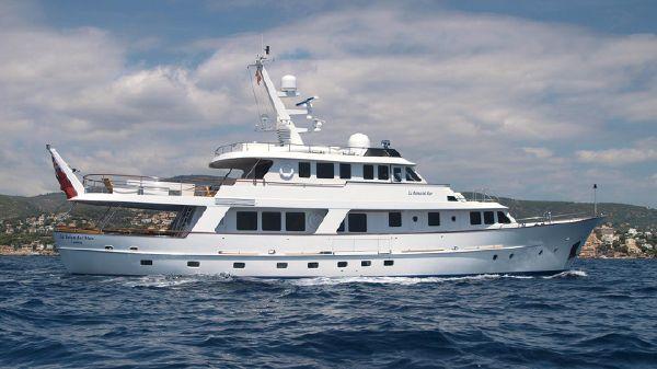 Hakvoort Trawler Beeldsnijder 3135