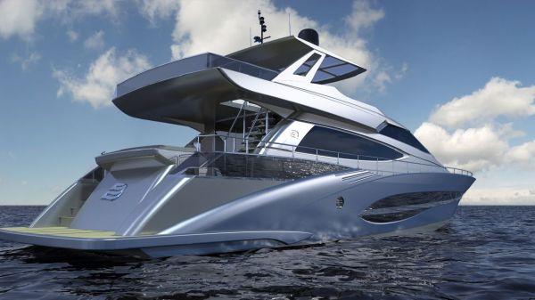 Dubai Marine lancetta 75 Fly Hardtop as Option