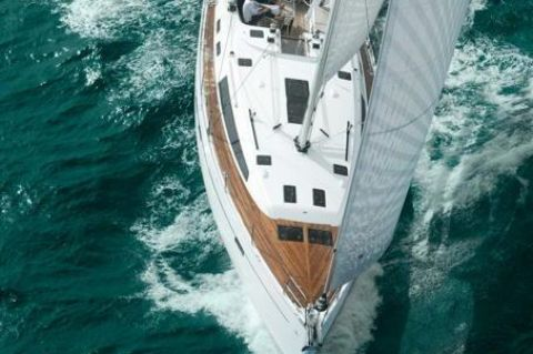 2019 Bavaria Cruiser 51 - Manufacturer Provided Image: Bavaria Cruiser 51 Aerial View