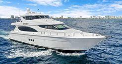 2012 Hatteras Enclosed Bridge Motor Yacht
