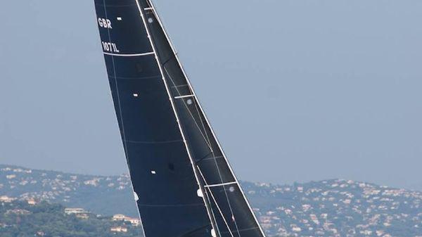 Beneteau First 50 Sailing