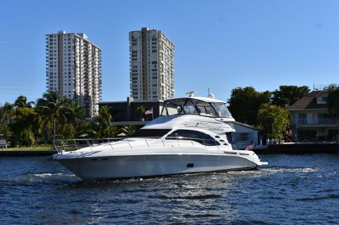 2008 Sea Ray 58 Sedan Bridge - Port