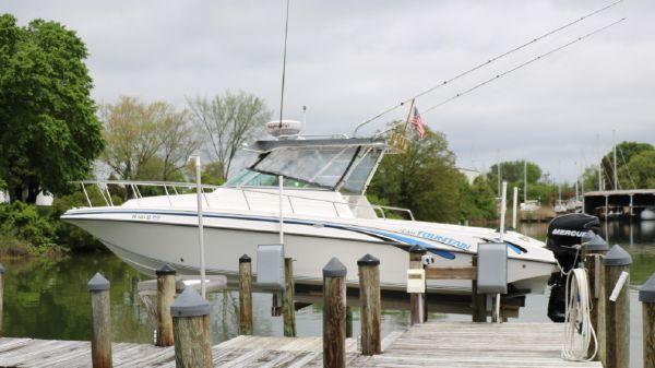 Fountain 31 Sportfish Cruiser OB
