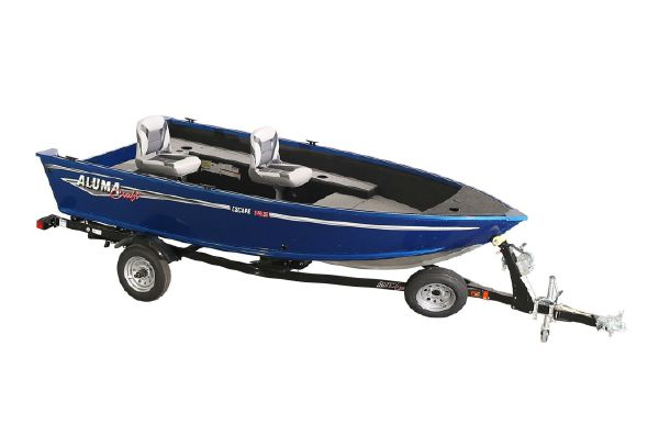 2018 Alumacraft Escape 145 Tiller