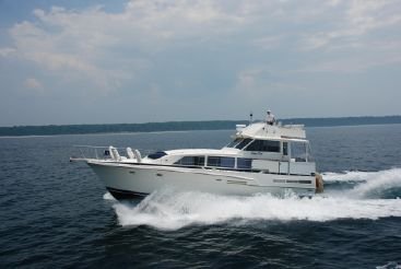 1986 Bertram 46 Flybridge Motor Yacht