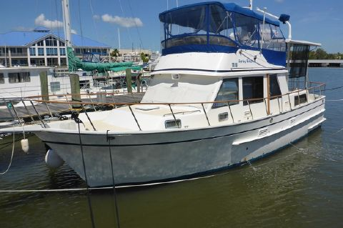 1987 Monk 42 Classic Trawler - Monk 42 SPRING BREAK