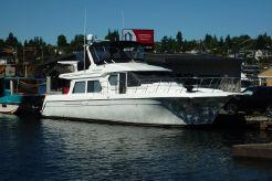 2000 Navigator 53 pilothouse