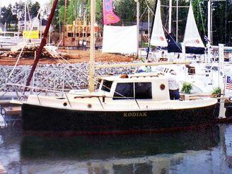 2001 Nimble Kodiak Pilothouse Motor Sailor