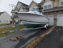 2002 Sea Pro 235 Walk Around w TRAILER