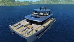 2021 Custom Power Catamaran 60