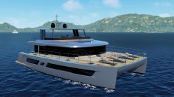 2021 Custom Power Catamaran 70