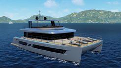 2021 Custom Power Catamaran 70