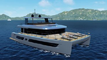 2021 Custom Power Catamaran 80
