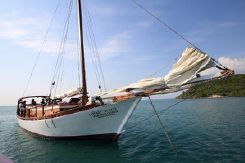1999 Custom 20m Teak Wood Sloop