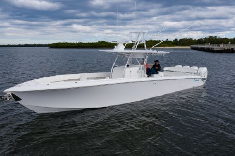 2018 Bahama 41 Open Fisherman