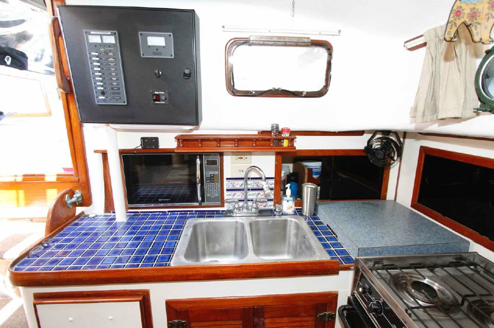 CSY 44 Galley