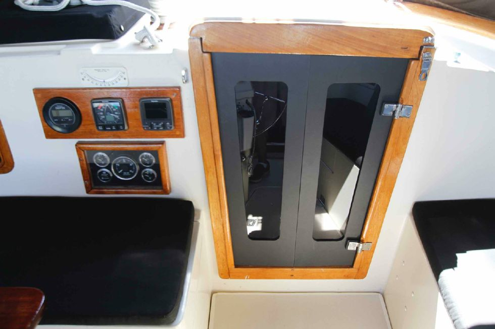 1977 CSY 44 Center Cockpit Walkover - CSY Companionway w/Starboard Panels