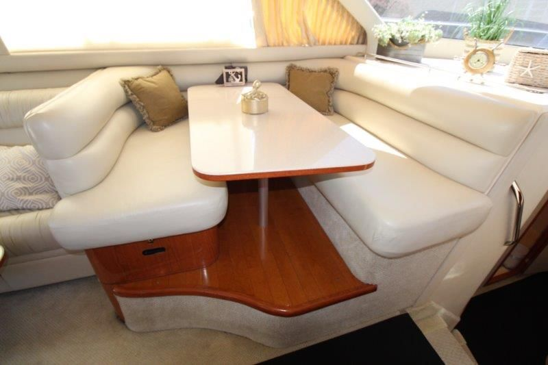 2001 Sea Ray 480 Sedan Bridge - Salon 5 - Dinette