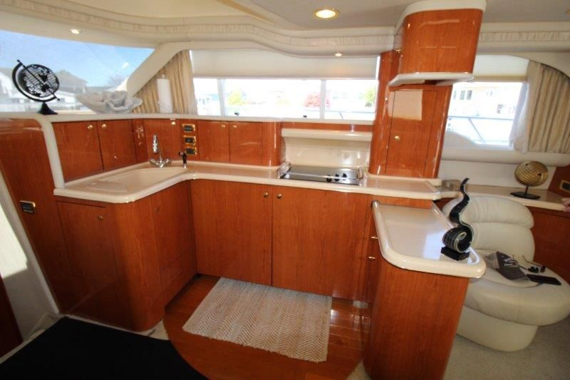 2001 Sea Ray 480 Sedan Bridge - Galley 1