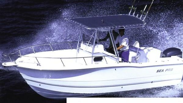 Sea Pro 235 Center Console Manufacturer Provided Image