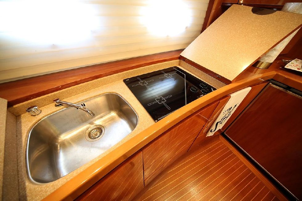 Galley Sink and Stove Top