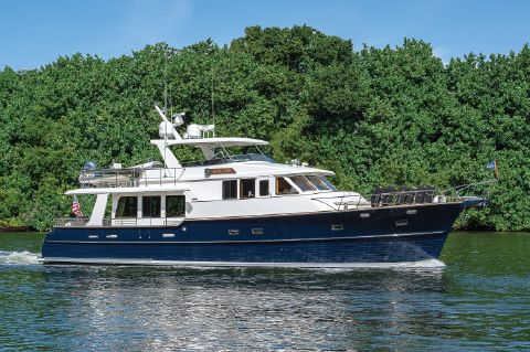 2003 Grand Banks 64 Aleutian RP - Profile