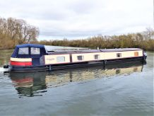 2016 Wide Beam Narrowboat Aqualine Canterbury 65 x 12
