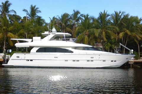 2005 Horizon 76' Open Flybridge - SWEET JANINE